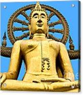 Big Buddah Acrylic Print