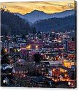 Big City Lights Acrylic Print