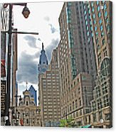 Big City Streets Acrylic Print