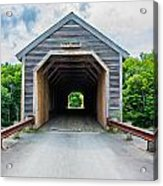 Big Covered Bridge Acrylic Print by Jason Brow