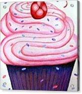 Big Cupcake Acrylic Print