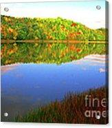 Big Ditch Lake West Virginia Acrylic Print
