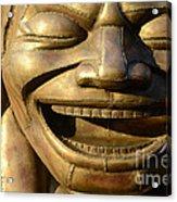 Big Face Climber Acrylic Print