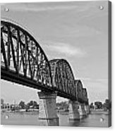 Big Four Bridge Bw Acrylic Print