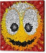 Big Happy Smile Acrylic Print
