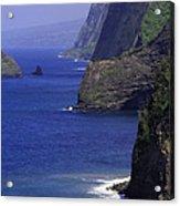 Big Island Cliffs  Acrylic Print