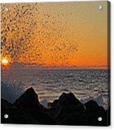 Big Island Hawaii Kona Sunset Acrylic Print