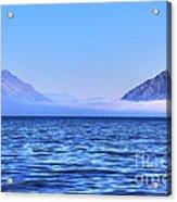 Big Lake In Newzealand Acrylic Print