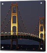 Big Mackinac Bridge 55 Acrylic Print