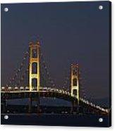 Big Mackinac Bridge 56 Acrylic Print