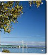 Big Mackinac Bridge 57 Acrylic Print
