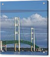 Big Mackinac Bridge 59 Acrylic Print