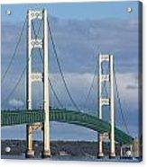 Big Mackinac Bridge 63 Acrylic Print