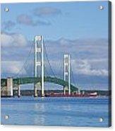Big Mackinac Bridge 65 Acrylic Print