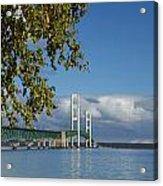 Big Mackinac Bridge 68 Acrylic Print