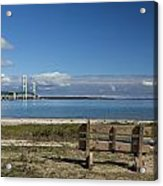 Big Mackinac Bridge 70 Acrylic Print