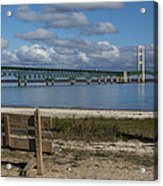 Big Mackinac Bridge 72 Acrylic Print