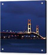 Big Mackinac Bridge 9 Acrylic Print