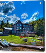 Big Moose Inn - Eagle Bay New York Acrylic Print
