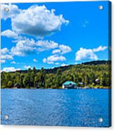 Big Moose Lake In The Adirondacks Acrylic Print
