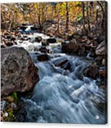 Big Pine Creek Acrylic Print by Cat Connor