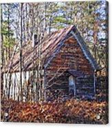 Big Pisgah Baptist Church Nc Acrylic Print