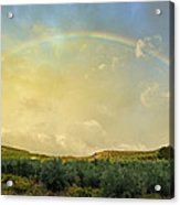 Big Rainbow Acrylic Print