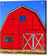 Big Red Barn Acrylic Print