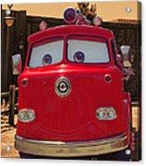 Big Red Carsland Acrylic Print