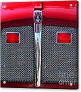 Big Red Fire Truck Acrylic Print