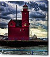 Big Red Holland Michigan Acrylic Print