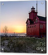Big Red Lighthouse Acrylic Print