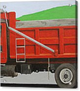 Big Red Truck Acrylic Print