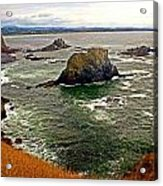 Big Rock Beach Acrylic Print