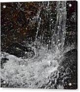 Big Rock Falls Acrylic Print