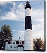 Big Sable Lighthouse Acrylic Print