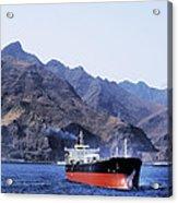 Big Ship Non Atlantic Ocean Acrylic Print