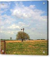 Big Skies Kansas Acrylic Print