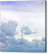 Big Sky Caye Caulker Belize Acrylic Print