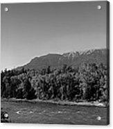 Big Sky Country Montana Bw Acrylic Print