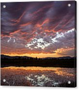 Big Sky Sunrise Acrylic Print