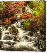Big Spring In Sheep Creek Canyon Acrylic Print