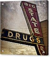Big State Drugs Irving Acrylic Print