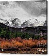 Big Storm Acrylic Print by Jon Burch Photography