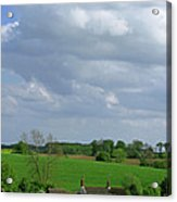 Big Suffolk Sky Acrylic Print
