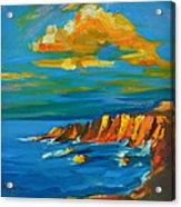 Big Sur At The West Coast Of California Acrylic Print by Patricia Awapara