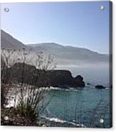 Big Sur Beach Acrylic Print