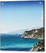 Big Sur Blue Acrylic Print