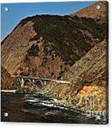 Big Sur Bridge Acrylic Print