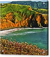 Big Sur California Coastline Acrylic Print